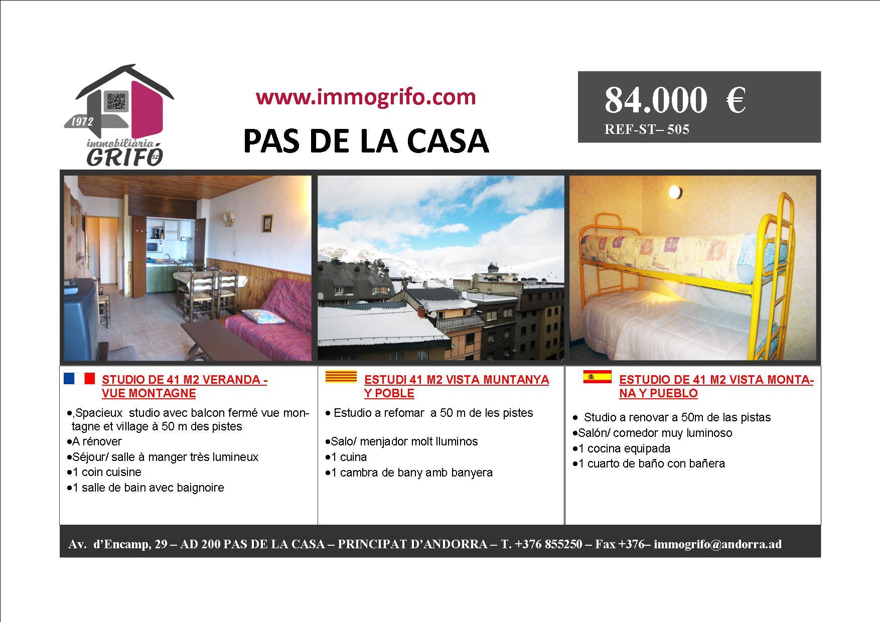 Achat Et Vente D U0026 39 Appartements Chalets T1 T2 T3 Au Pas De