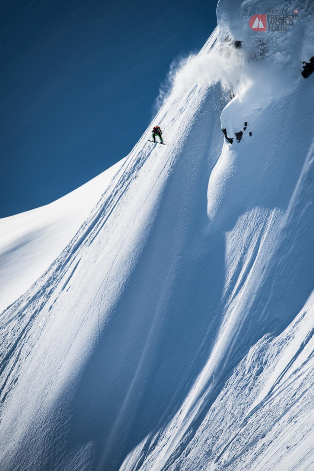 As the snow begins to fall across the Northern Hemisphere, athletes across the world are preparing for another season of exciting action on the prestigious freeride tour. The 2016 edition of the SWATCH FREERIDE WORLD TOUR is destined to be one for the history books as it will host the most talented freeriders on the planet competing on legendary venues across the world for a total prize purse of 467,000 USD. With a total of 62 athletes representing 14 countries, this diverse assembly freeride athletes is composed of 27 male skiers, 14 male snowboarders, 14 female skiers, and 7 female snowboarders. Some of the most recognized names in their respective disciplines will face-off during the five competition stops over the 2016 season. These finely tuned athletes will test their limits after putting in countless hours of physical and mental preparation over the summer months. Athletes will attempt to secure their name in freeride history as they push the limits of the sport on the road to the Bec des Rosses in Verbier, Switzerland. As the sport of freeride grows by leaps and bounds every year, the SWATCH FREERIDE WORLD TOUR is proud to welcome Peak Performance as the Outerwear Partner for the tour this season. Founded in Åre, Sweden in 1986, Peak Performance develops gear as a result of an organic process marrying function with fashion. - See more at: http://freerideworldtour.com/news/freeride-world-tour-2016-countdown-running#sthash.9Mlrkvbc.dpuf