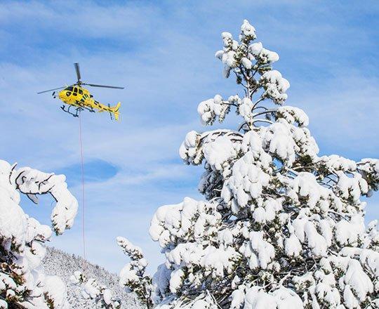 Les vols panoramiques sont conçus pour ceux qui souhaitent contempler toute la splendeur de l'Andorre vue du ciel, confortablement assis dans un hélicoptère. Les deux stations andorranes proposent des vols en hélicoptère au départ de tous les secteurs de chaque domaine. Des sorties sont également organisées depuis d'autres zones en Andorre. Les vols durent environ 10 minutes et offrent une vue imprenable sur les montagnes. Cette vue spectaculaire invite à répéter l'expérience. Il s'agit d'une activité organisée pour 4 personnes minimum.