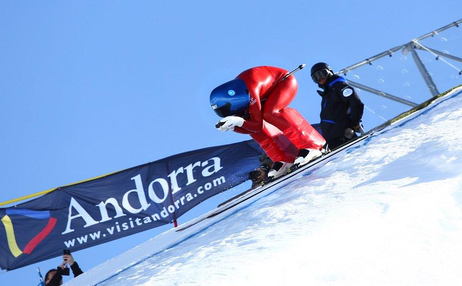 La vitesse extrême fait son retour sur la piste Riberal, dans le secteur Grau Roig de Grandvalira, avec les épreuves de la Coupe du monde du kilomètre lancé, et notamment trois courses.
