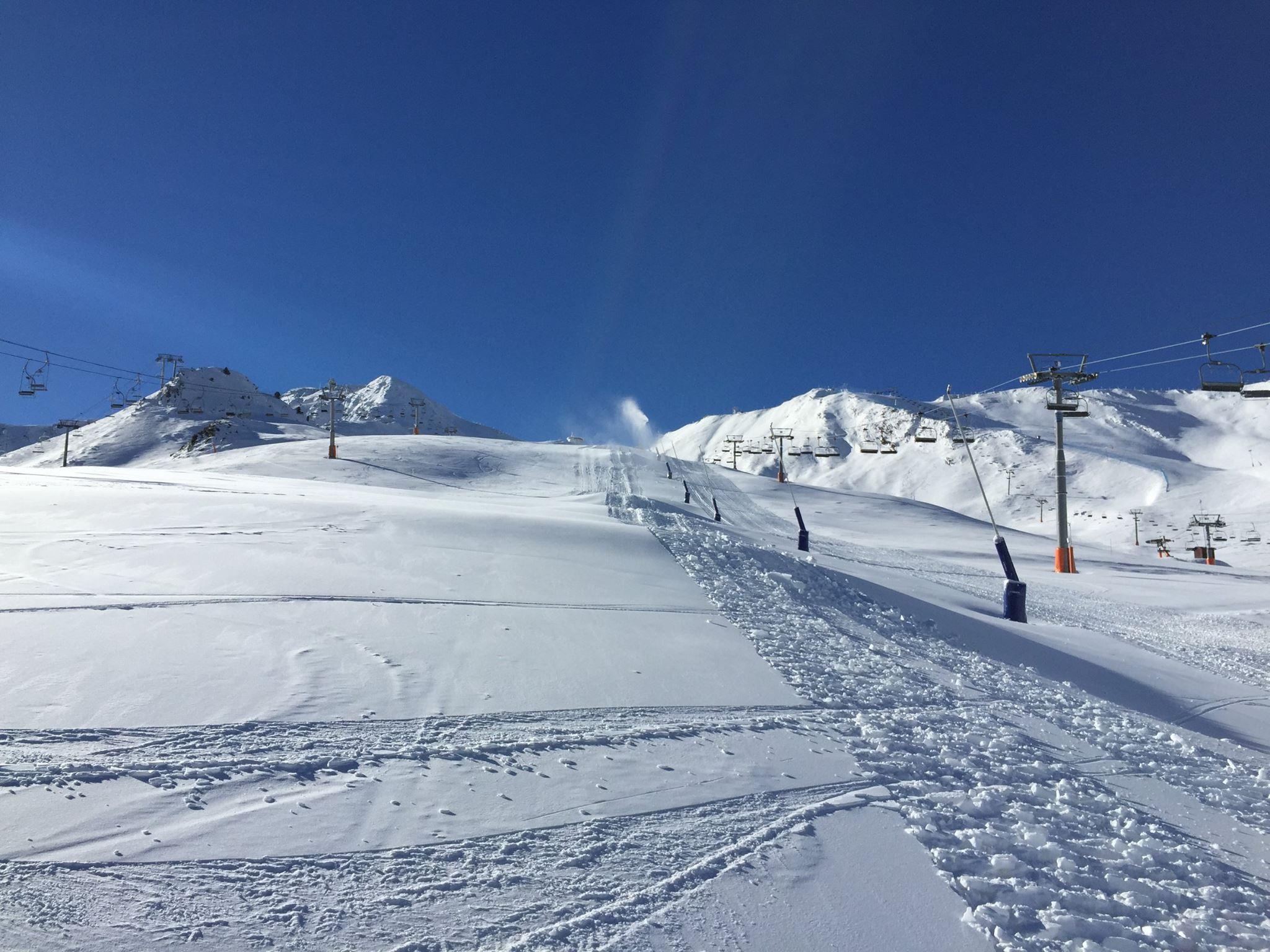 Grandvalira rep 34.815 esquiadors durant el pont de la Puríssima Els responsables del domini es mostren satisfets per l'afluència